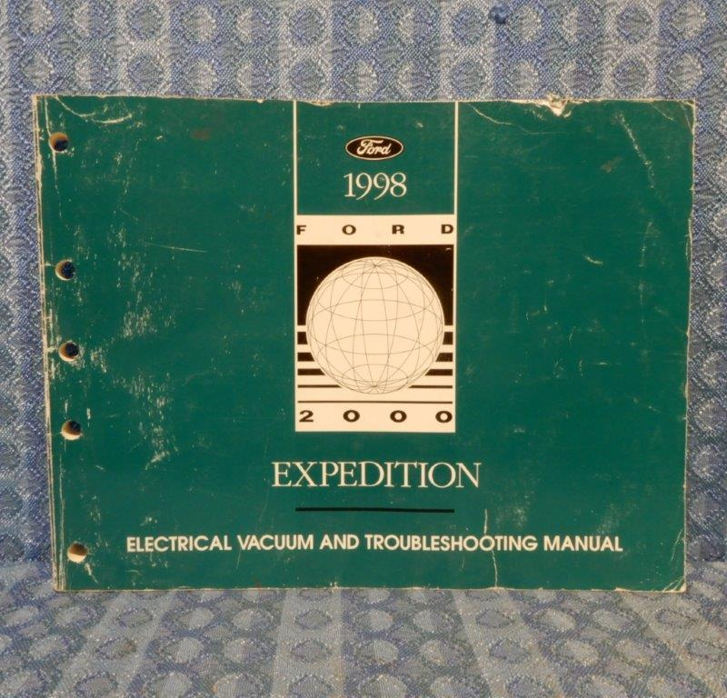 1998 Ford Expedition OEM Electrical & Vacuum Troubleshooting Manual