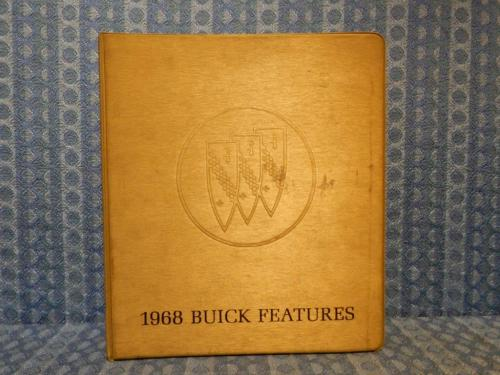 1968 Buick Original Dealer Features Album GS Skylark Riviera Electra LeSabre