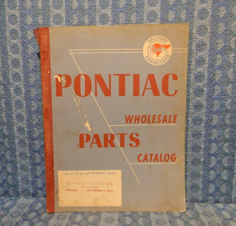 1935-1951 Pontiac Original Wholesale Parts Catalog 1936 37 38 39 40 41 47 48 49