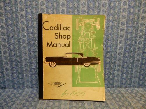 1956 Cadillac Original Service / Shop Manual