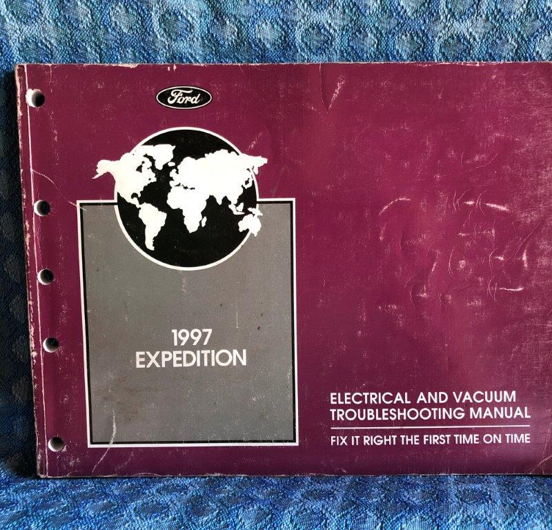 1997 Ford Expedition Original Electrial & Vacuum Troubleshooting Manual