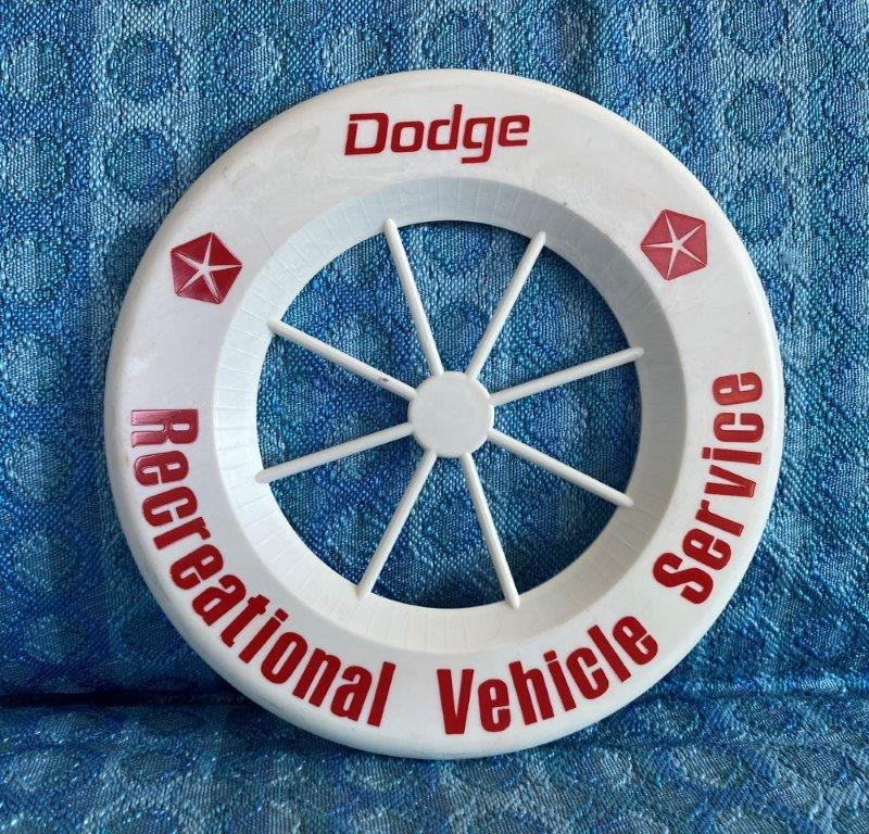 "1960's - 1970's Dodge Recreational Vehicle Service Original 6"" Promotional Item"