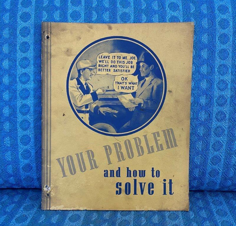 1937-1940 Borg-Warner Automotive Clutches Sales & Service Manual Ford GM Mopar