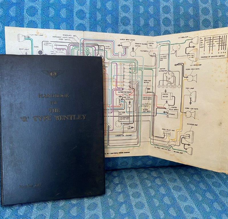 R Type Bentley OEM Handbook #XIV / Owners Manual 1966 Printing