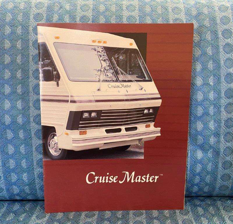 1989 Cruise Master Motorhome by Georgie Boy Original Sales Brochure