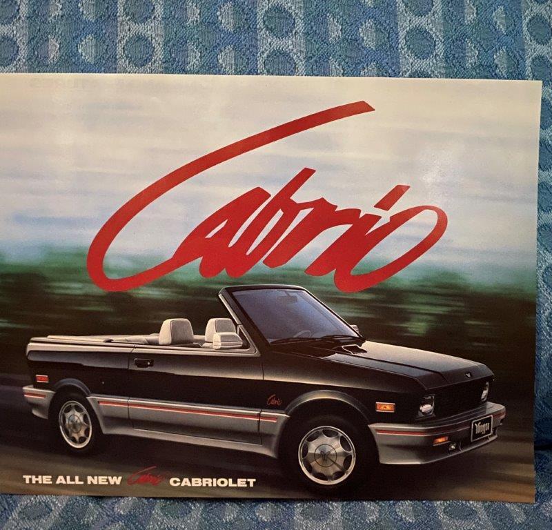 1990 Yugo Cabrio Original Sales Sheet
