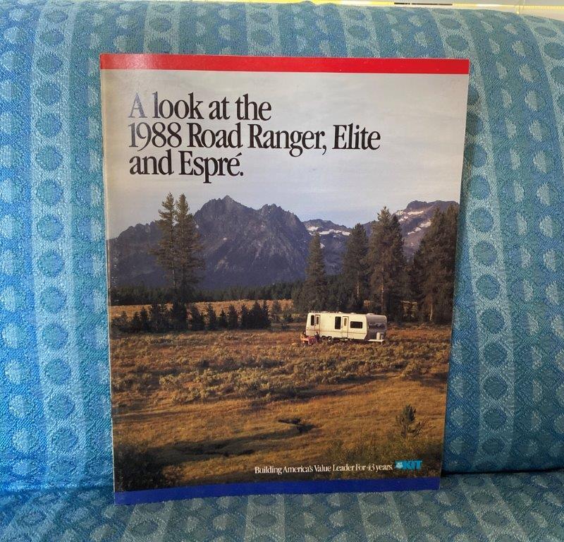1988 Road Ranger Elite Espre' Travel Trailer & 5th Wheel Original Sales Brochure