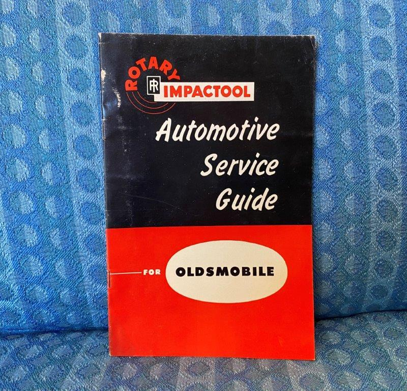 Original Rotary Impact Tool Guide For 1952-1953 Oldsmobile by Ingersoll-Rand