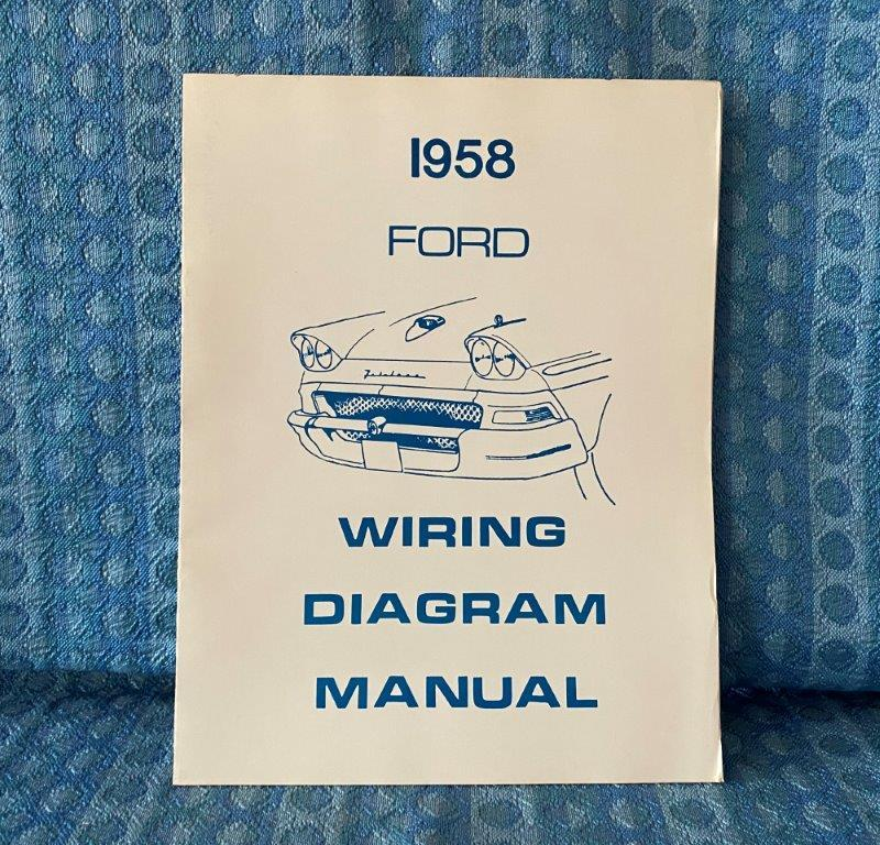 1958 Ford Passenger Car Wiring Diagrams Manual