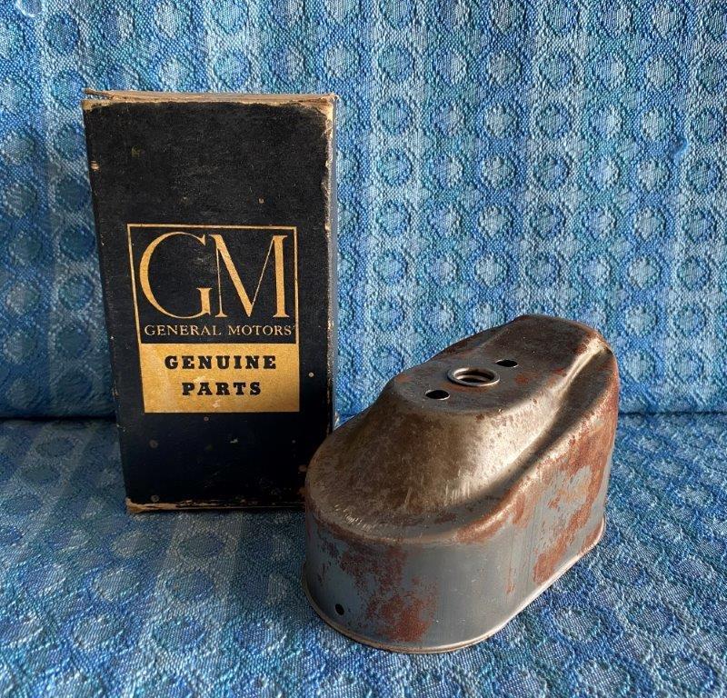 1940-1952 Chevrolet NOS GM Oil Pump Screen Cover 1941 1947 48 49 50 1951 #839241