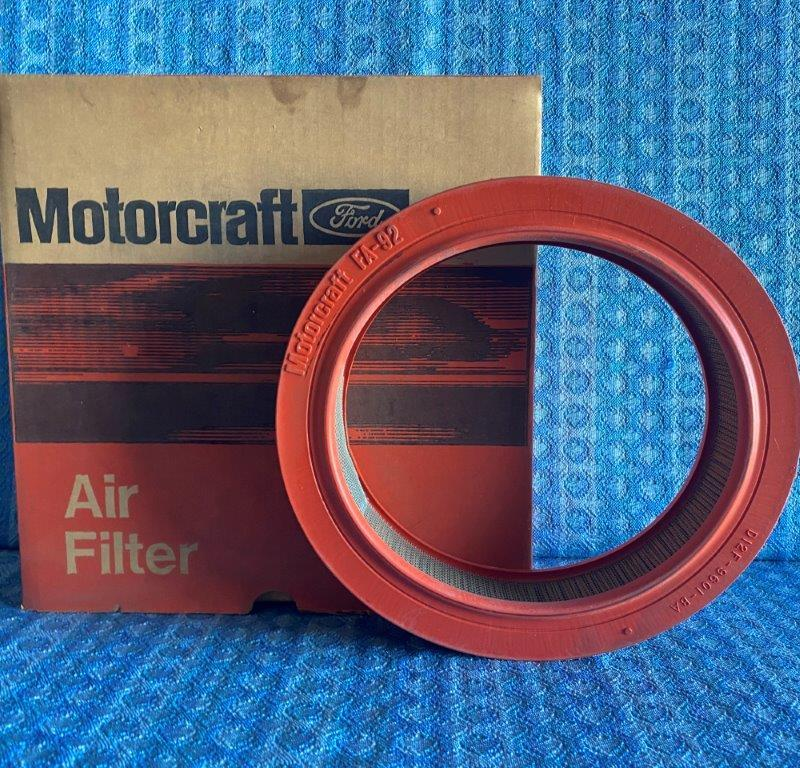 1971-1973 Ford Pinto 4 cyl NOS Motorcraft Air Filter 1972 # FA-92 (SEE AD)