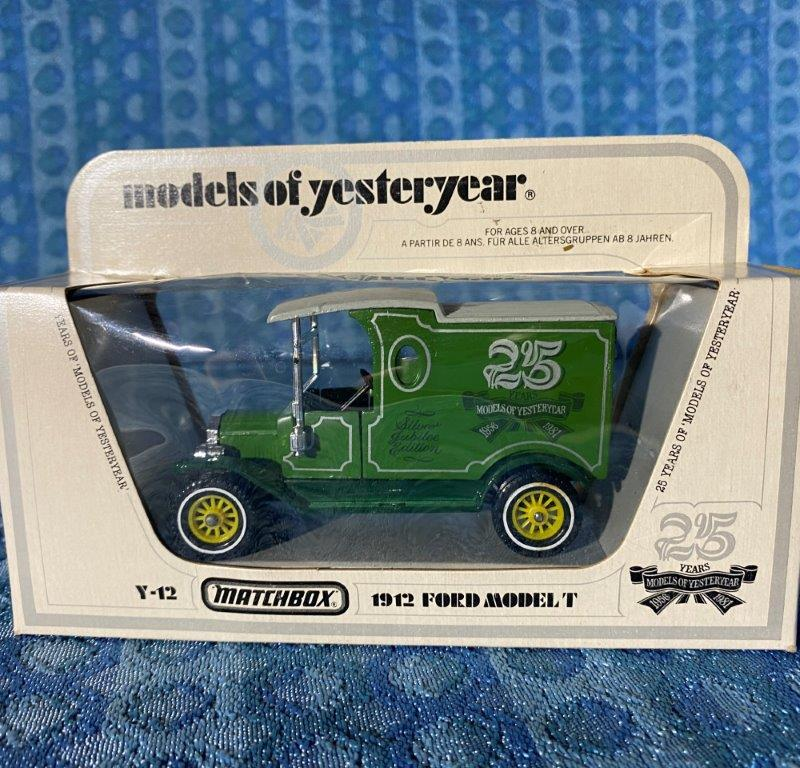 1912 Ford Model T Truck 25 Years of Matchbox Models of Yesteryear 1981 #Y-12