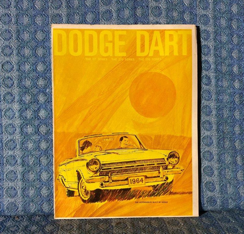1964 Dodge Dart GT 270 170 Original Sales Brochure / Catalog