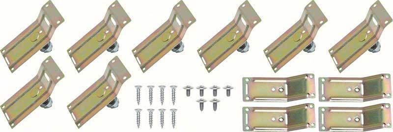 1967 Chevrolet Camaro RS NEW Lower Molding Clip Set
