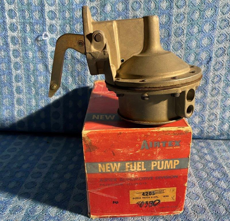 1953 Dodge Truck 6 Cyl & 1954-56 6 & V8 NORS Fuel Pump #4205 (SEE DETAILED AD)