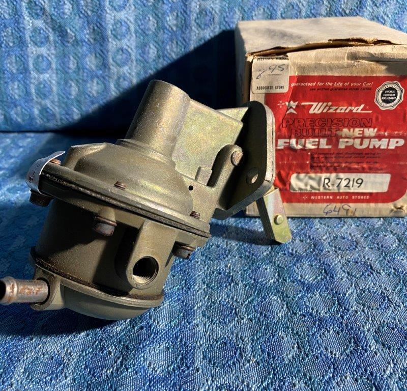 1962 Falcon & Comet 6 cyl w/Electric Wipers NORS Screw Together Fuel Pump #6491