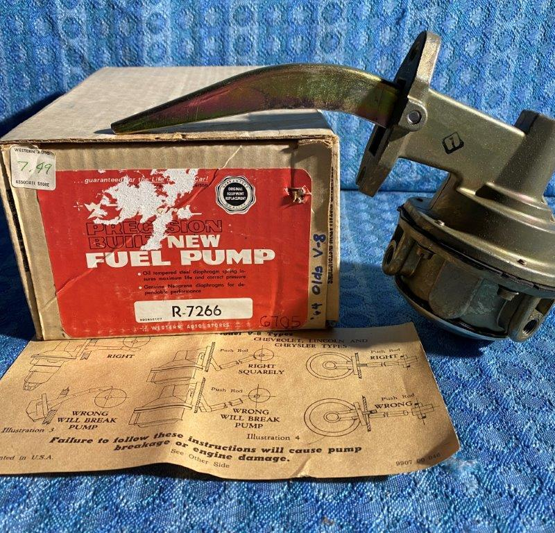 1964 Oldsmobile 330 Eng NORS Fuel Pump #6705