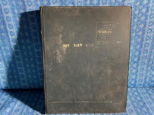 1964 Volvo P 120, P 1800 Original English Factory Service Manual in 13 Parts