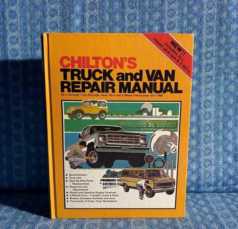 1973-1980 Chilton's Truck & Van Repair Manual 1/4-1 Ton American & Import 74 76