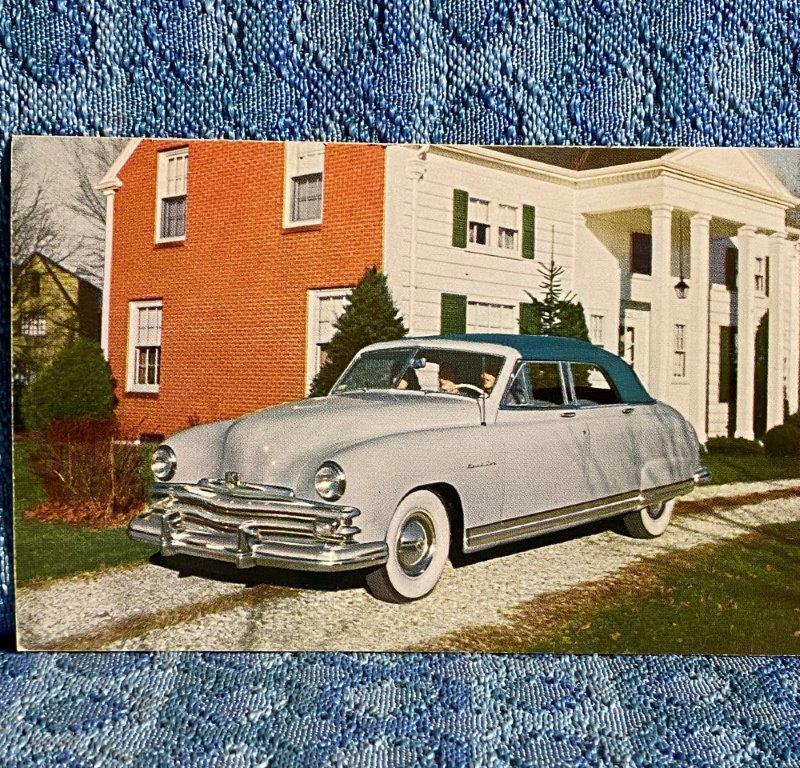 1949 Kaiser Virginian NOS Factory / Dealer Postcard