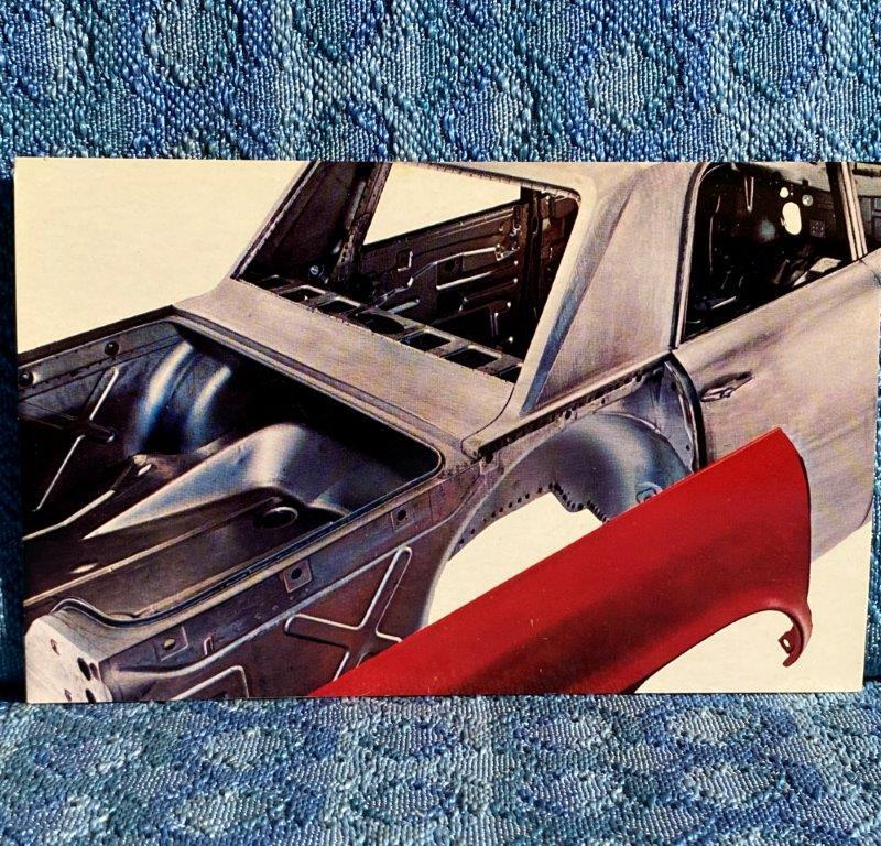 1964 Studebaker Different By Design NOS Factory / Dealer Postcard