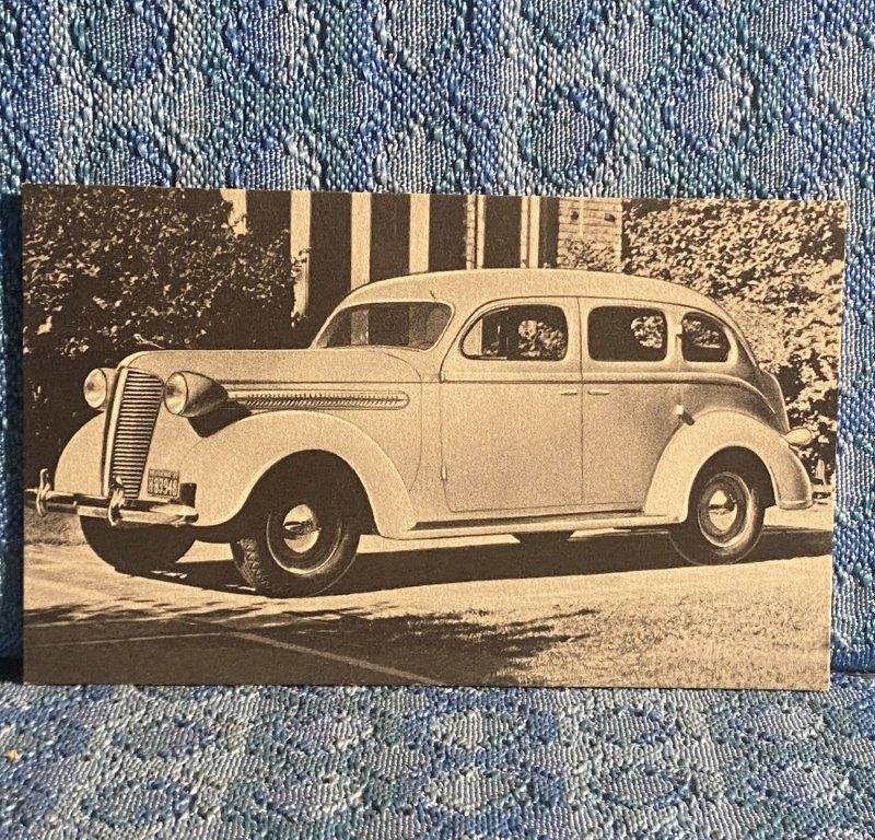 1937 Dodge 4 Door Sedan Postcard