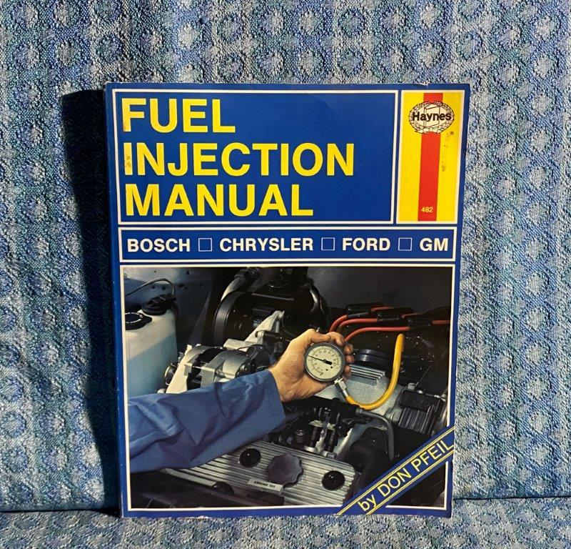 1986 Fuel Injection Manual by Haynes Bosch, GM, Ford, Chrysler