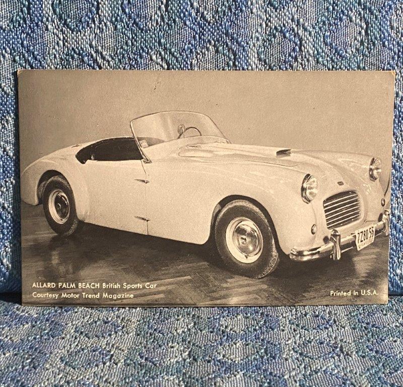 Circa 1955 Allard Palm Beach Vintage Postcard