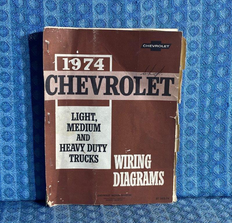 1975 Chevrolet Truck Light Medium Heavy Duty OEM Wiring Diagrams