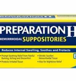 Preparation H Suppositories 56 sup