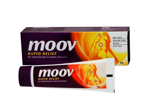 Original Rapid Relief 100 G Moov Cream لتخفيف الآلم