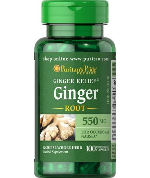 Ginger Root 550 Mg 100 tab