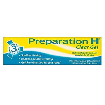 Preparation H Clear Gel