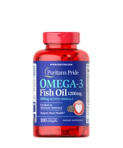 Puritan's Pride Omega-3 Fish Oil 1200