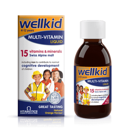 Wellkid Multi-Vitamin Liquid