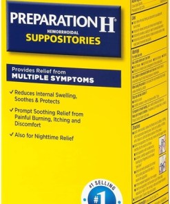 Preparation H Suppositories 48 sup