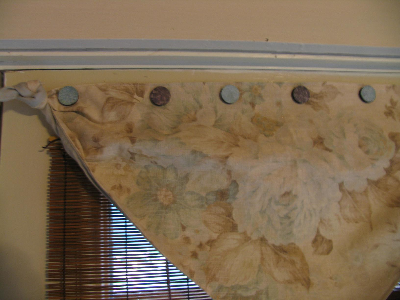 Magnetic Buttons For Hanging Curtains On Metal Doors