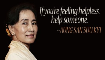 The Tragedy of Aung San Suu Kyi
