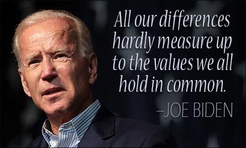 Joe Biden quote