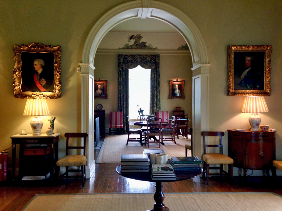 living room suites northern ireland white futon rooms glenarm castle notable travels county antrim