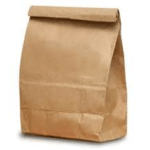 Use a brown paper bag to make your own microwave popcorn.