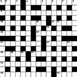 Ask a friend to help you solve a crossword puzzle.