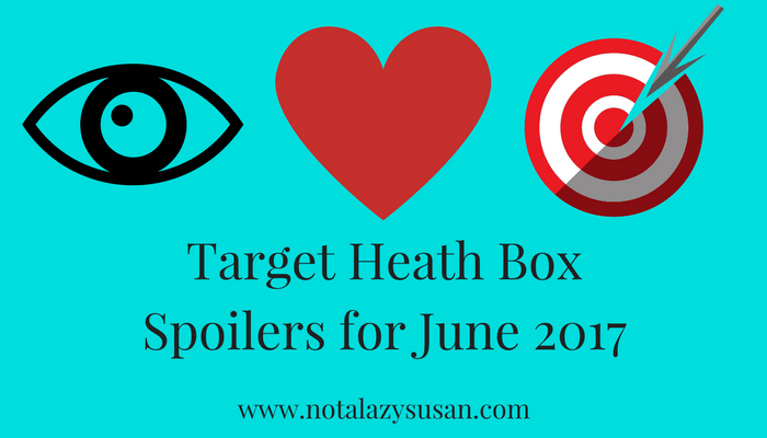 Target Health Box Spoilers June 2017