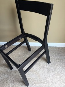 Image of chair frame
