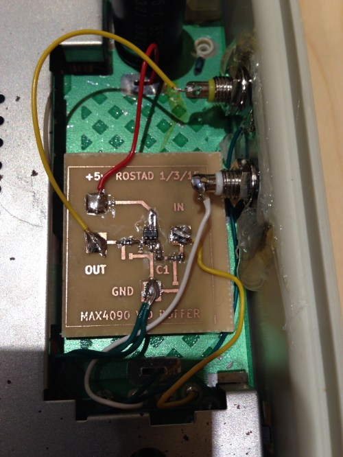 small resolution of  wiring diagram for here s the breakout board installed in the aquarius fits where the rf modulator was