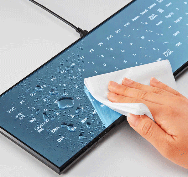Cool Leaf Touchscreen Keyboard