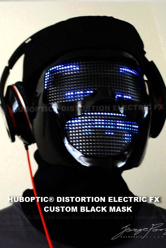 Dj Mask Led Light Up Mask
