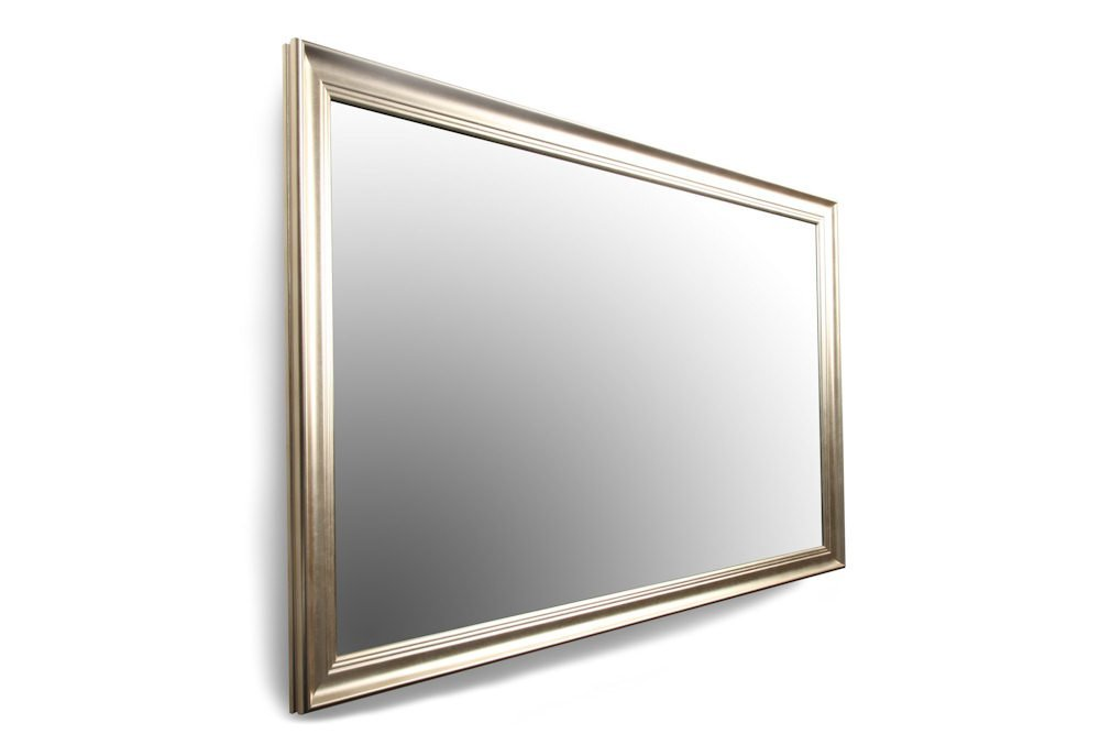 A Smart TV Hidden in a Mirror With Frame