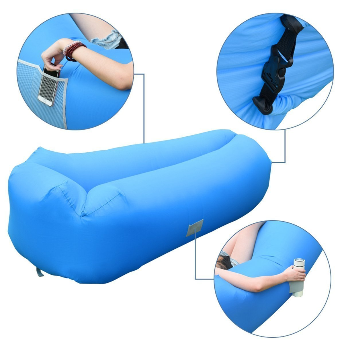 Inflatable Sofa Review: Easy Inflatable Lounger Sofa