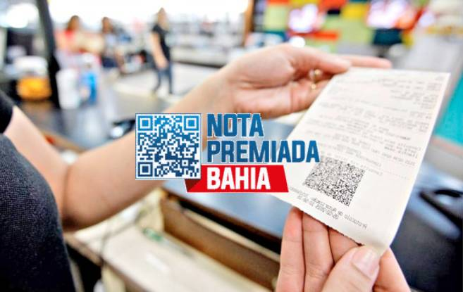 Sorteio da Nota Premiada Bahia dezembro